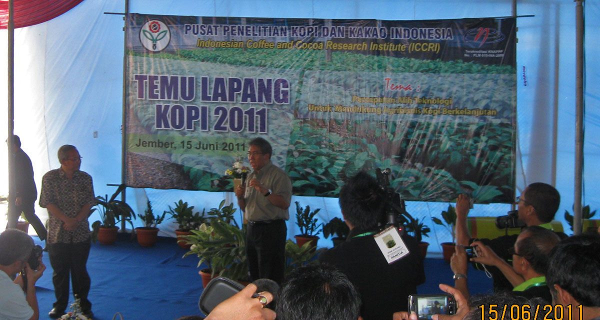 Temu Lapang Kopi 2011 – 100 Tahun Puslitkoka Jember
