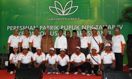 Peresmian Penambahan Mesin Pabrik Pupuk NPK