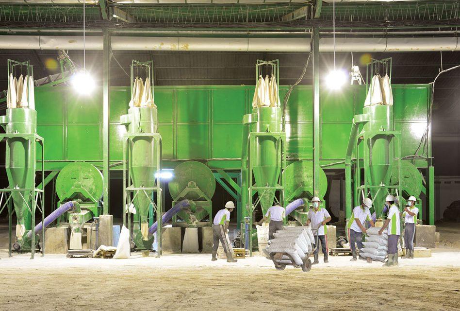 Pembangunan Pabrik Dolomit – Palembang
