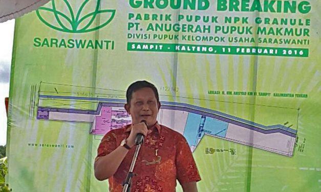 Peletakan Batu Pertama Pabrik Pupuk NPK PT. APM