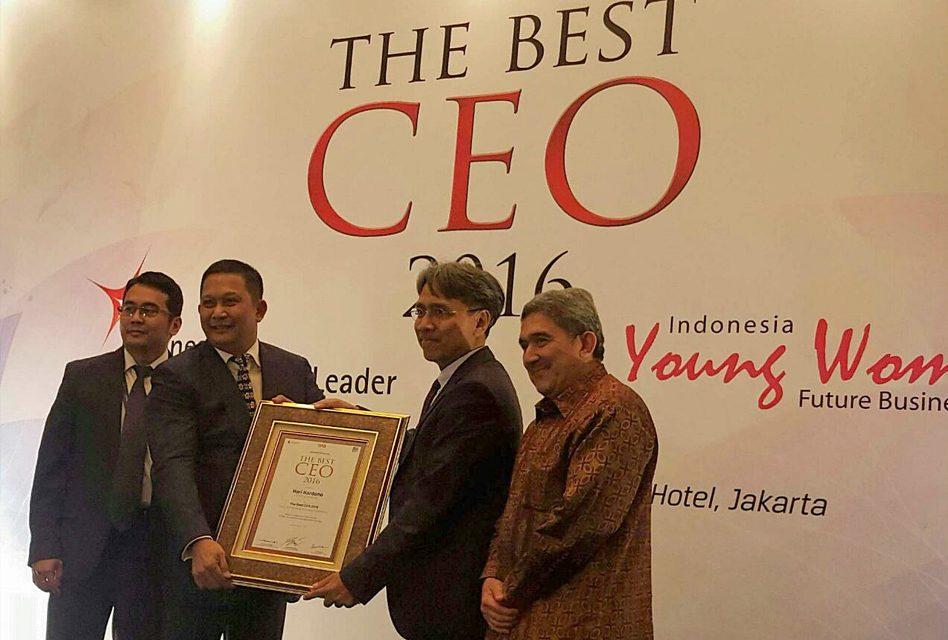 Hari Hardono, Indonesia Best CEO 2016