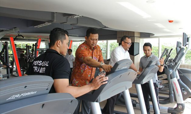 Perkantoran AMG Tower Launching Bodhi Gym