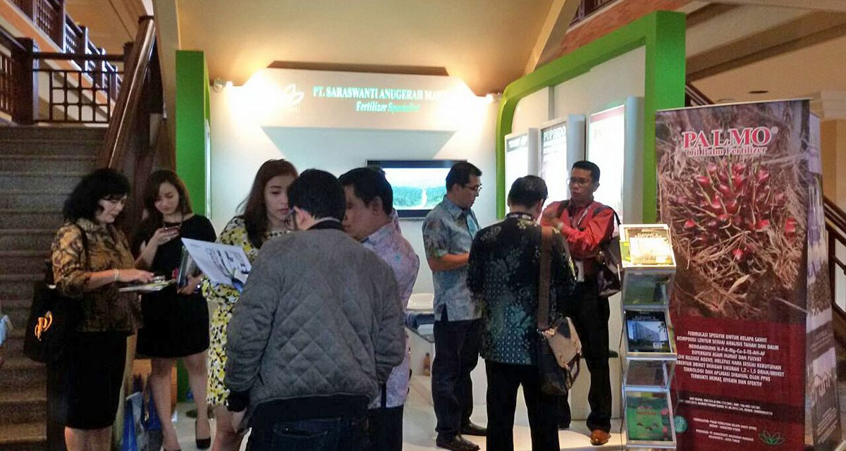Saraswanti di  Indonesian Palm Oil Conference ke 12