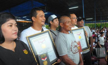 Mataram City Pecahkan Rekor MURI Ngopi Joss