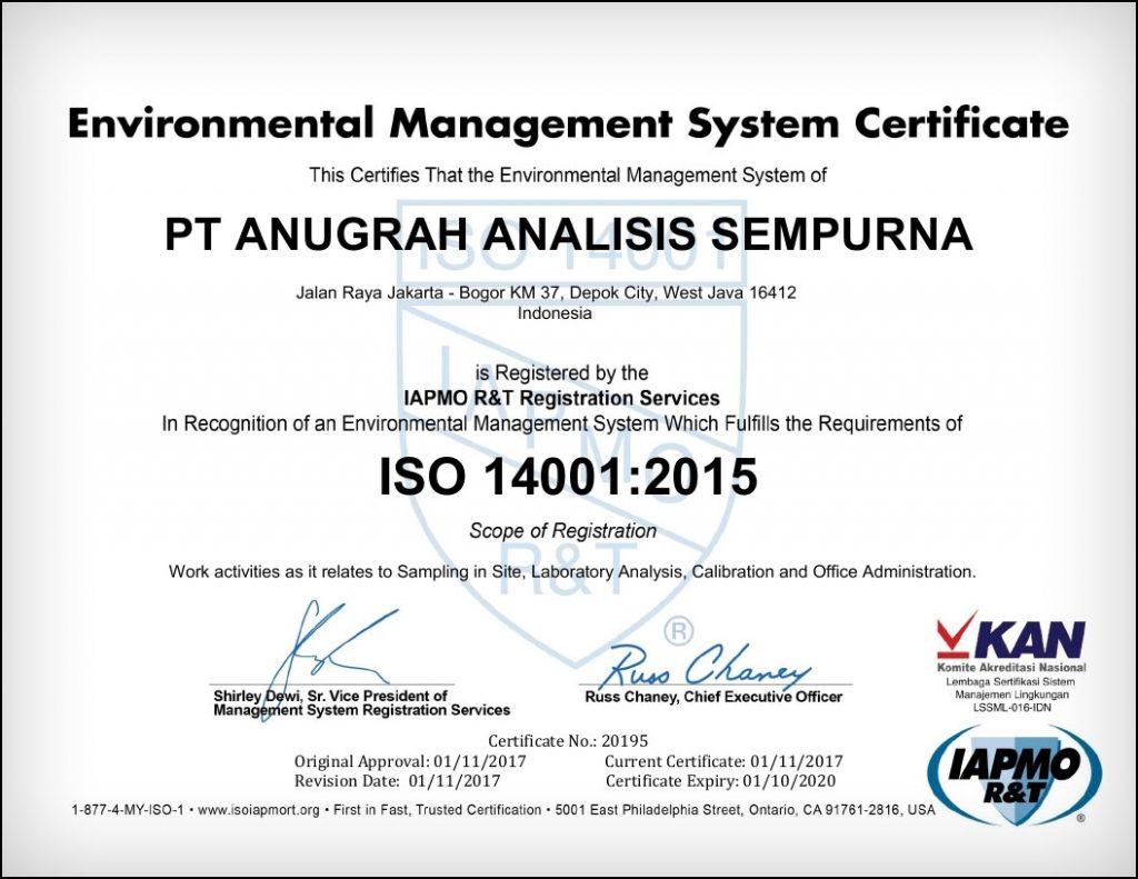 Saraswanti---AAS-ISO14001