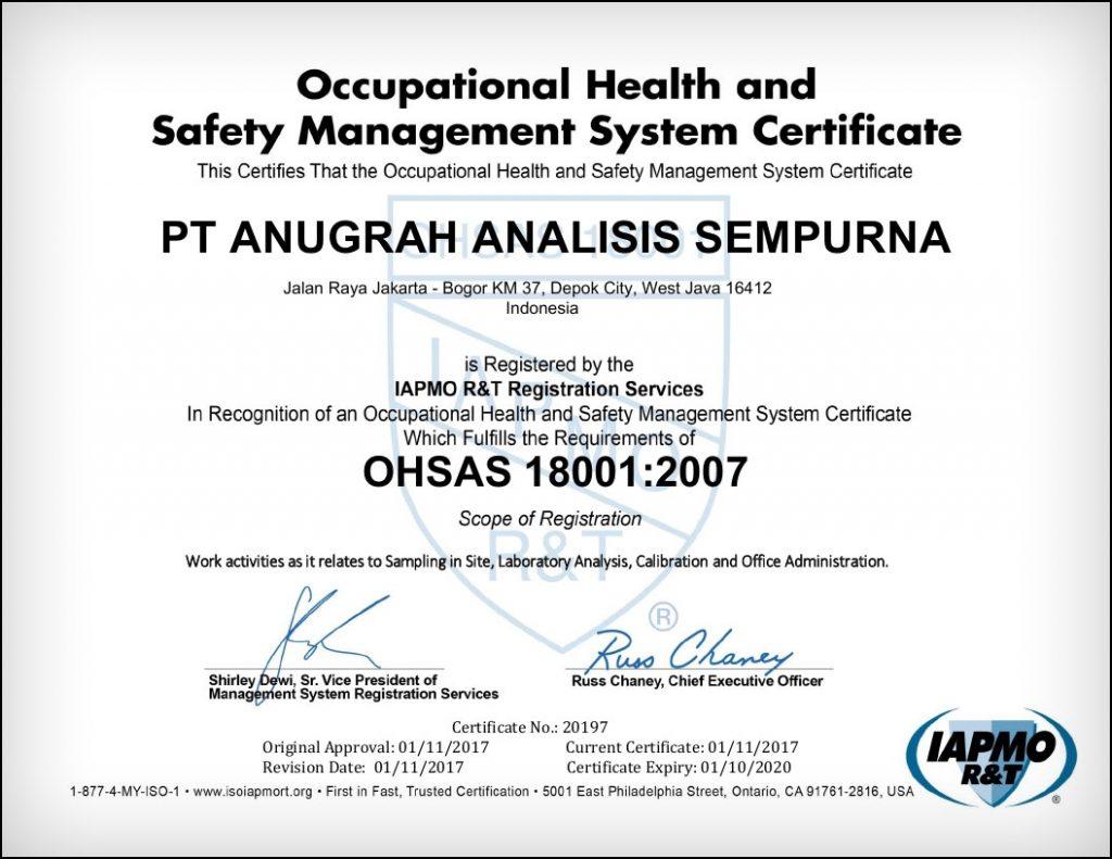 Saraswanti---AAS-OHSAS