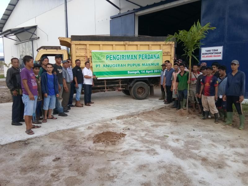 PT. APM Produksi & Kirim Perdana Pupuk NPK