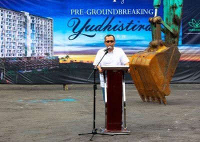 Yudhistira Groundbreaking 005