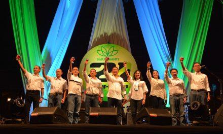HUT Ke-21 & Halal Bihalal PT. Saraswanti Anugerah Makmur