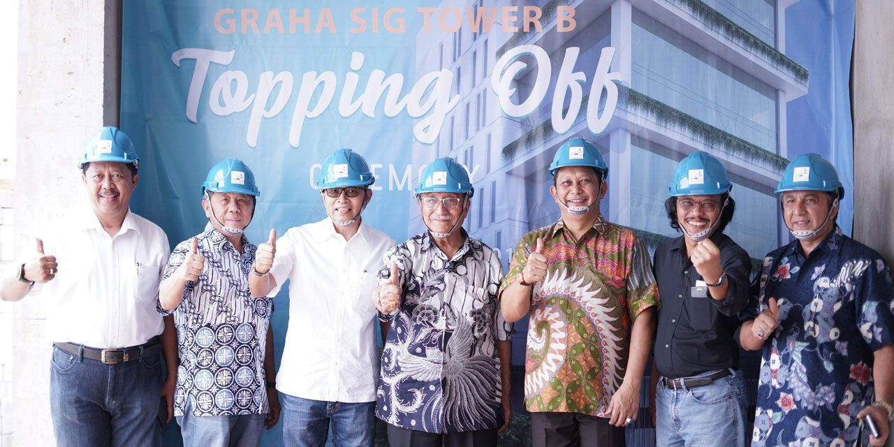 Topping Off Ceremony Graha SIG Tower B