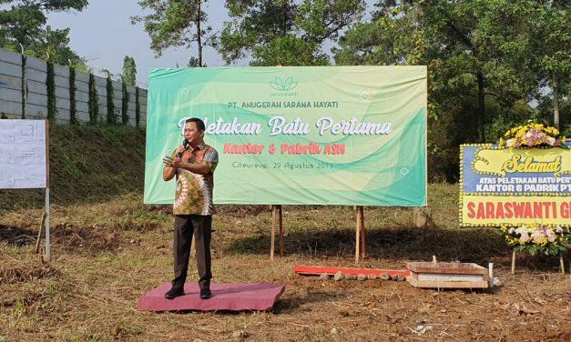 Peletakan Batu Pertama Kantor & Pabrik PT Anugerah Sarana Hayati