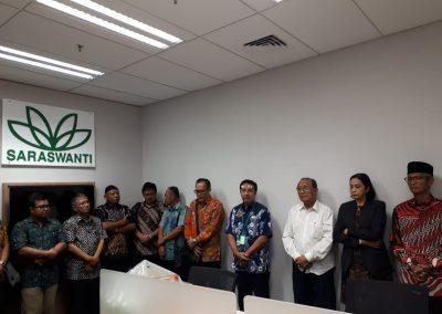 Peresmian Kantor SAM Jakarta - Centennial Tower 01