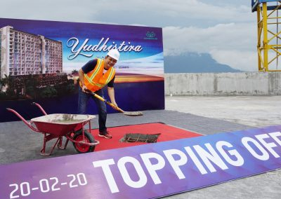 saraswanti_topping offf yudhistira tower - mataram city 01