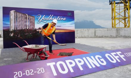 Topping Off Ceremony Yudhistira Tower – Mataram City