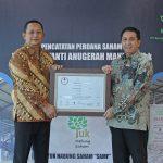 PT Saraswanti Anugerah Makmur Tbk Catatkan Saham Perdana di Bursa