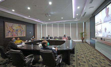 Rapat Triwulan I PT. Saraswanti Utama