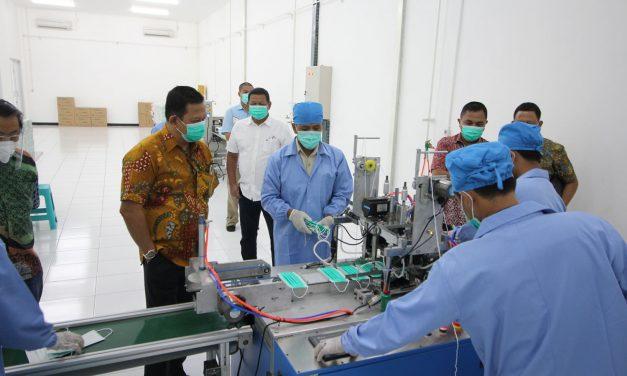 Peresmian Unit Produksi Masker Halei PT SPI