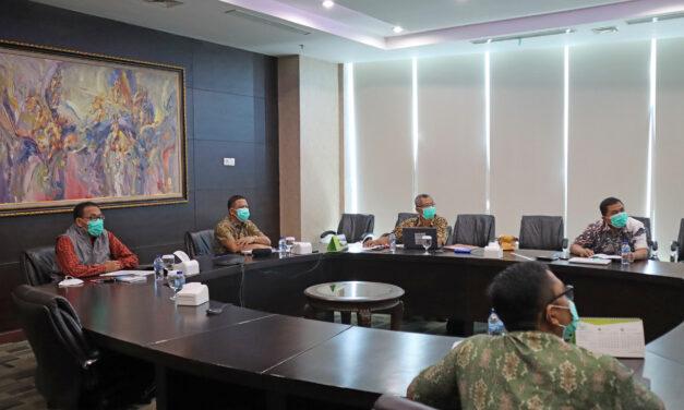 Rapat Evaluasi Semester I 2021 Saraswanti Group