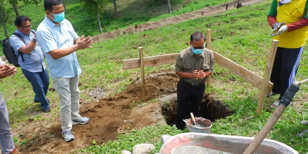 Peletakan Batu Pertama Agrowisata Lembah Kelud
