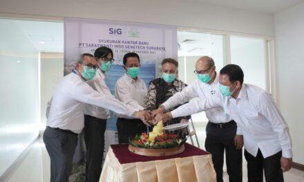 Syukuran Kantor Baru PT Saraswanti Indo Genetech Surabaya